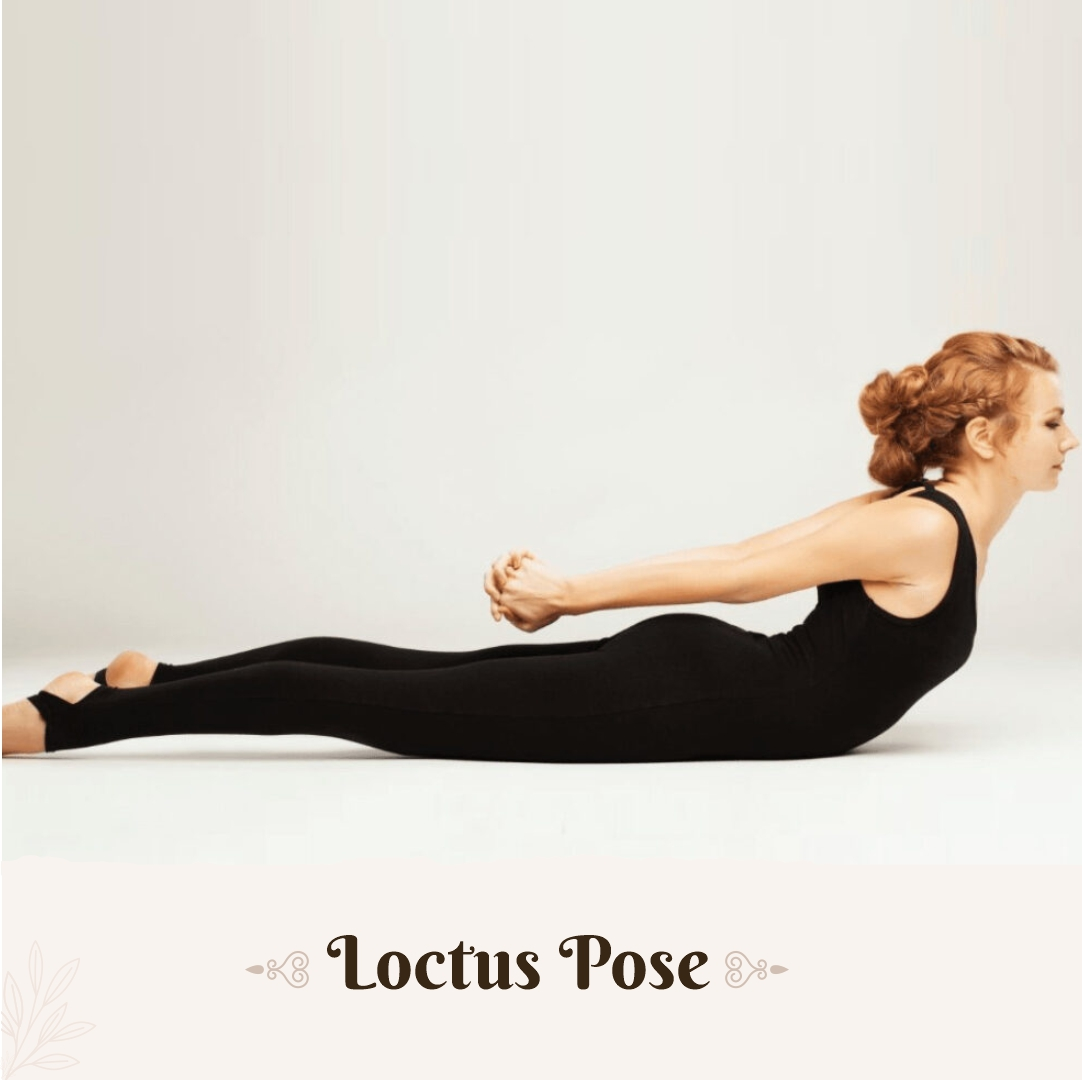 Locust Pose for back pain