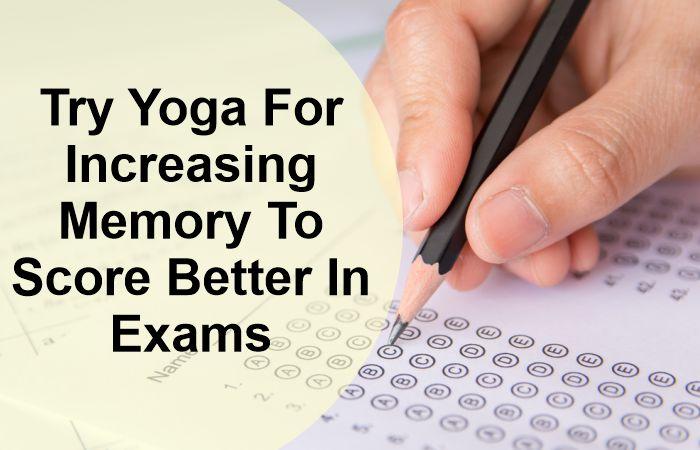 Yoga For Increasing Memory