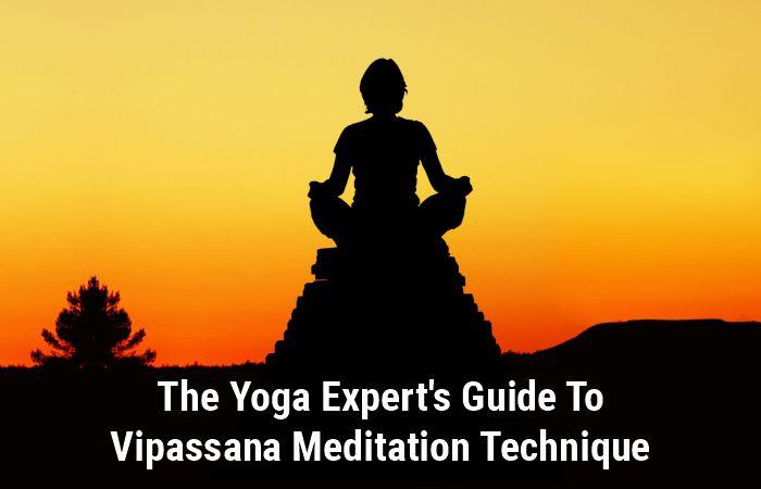 vipassana meditation technique